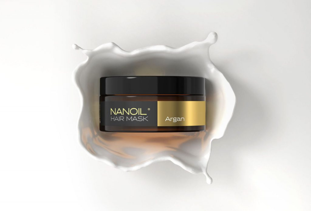 Nanoil - Argan oil now available in a hair mask